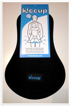 Our new favorite baby gift for new dads to protect..uh, their most sensitive areas when babywearing. Hilarious.