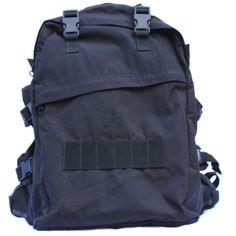 Black Ops Tactical Assault Back Pack Bag For Men by BLACKANDDENIM, $109.00