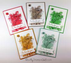 2015-2017 In Color Card Set Stampin' Up! You've Got This Stamp Set