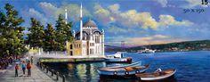 ortaköy yağlı boya tablolar - Google'da Ara