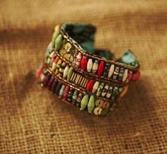 Bracelets - 87 Cuff - 31 Bits Designs