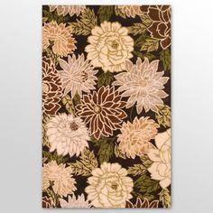 Blossom in Mahogany Rug