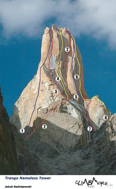 Trango Nameless Tower, Pakistan Mountain Climbing, Rock Climbing, Pakistan Travel, Mountaineering, Climbers, Bergen, Bouldering, The Great Outdoors, Mountains