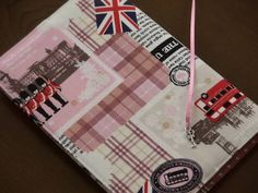 ハンドメイド B6判ブックカバー ロンドン Handmade book cover ¥610yen 〆04月22日