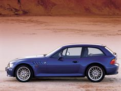 1999 BMW Z3 Coupe. Oh yes, it is lovely. And I will own one someday……love this!