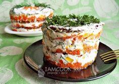 Фото печёночного торта из говяжьей печени