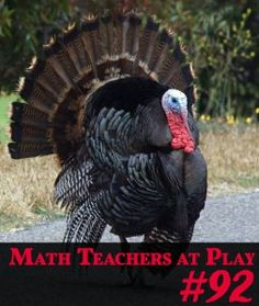 Welcome to the 92nd edition of the Math Teachers At Play math education blog carnival‌—‌a monthly smorgasbord of links to bloggers all around the internet who have great ideas for learning, teaching, and playing around with math from preschool to pre-college.