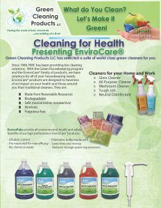Green Cleaning Products Envirocare Eco Friendly Products Green Cleaning Cleaning Business Cleaning