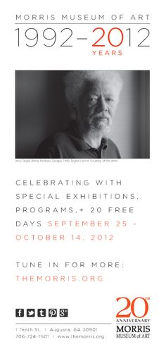 tune in. Jerry Siegel, photography exhibition, Morris Museum of Art