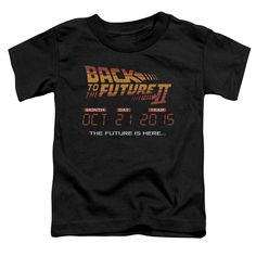 """Checkout our #LicensedGear products FREE SHIPPING + 10% OFF Coupon Code """"Official"""" Back To The Future Ii / Future Is Here - Short Sleeve Toddler Tee (2t) (2t) - Back To The Future Ii / Future Is Here - Short Sleeve Toddler Tee (2t) (2t) - Price: $29.99. Buy now at https://officiallylicensedgear.com/back-to-the-future-ii-future-is-here-short-sleeve-toddler-tee-2t-2t"""