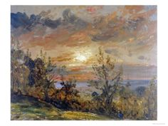 Sketch at Hampstead Heath Giclee Print by John Constable at Art.com