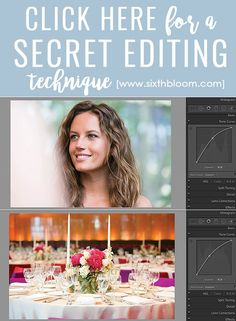 A SECRET EDITING TECHNIQUE: ADD BEAUTIFUL TONES TO YOUR PHOTOS. Learn an editing technique in photoshop or Lightroom to enhance your pictures.