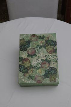 scatola con carta di riso