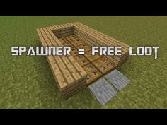 How to make a Mob Grinder WITHOUT A SPAWNER - YouTube