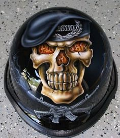 "Custom Paint Job On Your Helmet ""Skulls"" in eBay Motors, Parts & Accessories, Apparel & Merchandise 