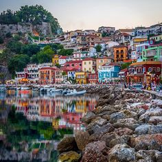 Parga, Greece! ⠀⠀⠀⠀⠀ ✦ Nikon D750, 35mm, f 4.5, 1/80 sec, ISO 320 ⠀⠀⠀⠀⠀ ✦ Checkout my recommended photographers & great hubs tagged to my picture! ⠀⠀⠀⠀⠀