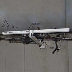 Ceiling Bike Rack Horizontal — Modern Ceiling Design