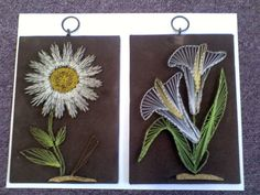 String art flowers