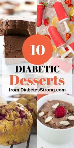10 sugar-free low-carb & easy diabetic desserts that will satisfy your need for sweet, gooey, and chocolaty goodness. Cakes, ice creams, fudges, mousses, and crepes! #diabeticrecipes #diabeticdesserts #sugarfree #lowcarb #desserts via @DiabetesStrong