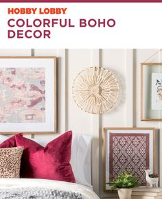 Create a one-of-a-kind space with pops of color and eclectic decor. Ad Home, Indian Home Decor, Eclectic Decor, Easy Diy Projects, Home Accents, Color Pop, Home Goods, Living Room, Space