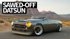 Chopped and Swapped Classic Datsun Roadster With the Cleanest N/A E. Datsun 1600, Datsun Roadster, Automobile, Japanese Domestic Market, British Sports Cars, Car Goals, Japanese Cars, Car Photography, Cars