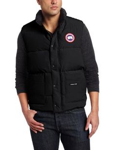 Canada Goose Men's Freestyle Vest,Black,Medium Canada Goose ++ You can get best price to buy this with big discount just for you.++