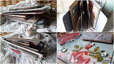 Rękodzieło- wystrój wnętrz,decoupage,cardmakig,kosmetyki, mydła,blog, blogspot , : Mini album z wykorzystaniem torebek śniadaniowych