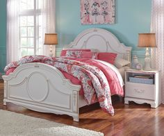 Jessica Full Panel Bed for girls by Standard Furniture 94201 94202 ...