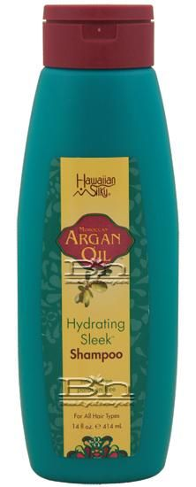 Hawaiian Silky Hawaiian Silky Moroccan Argan Oil Hydrating Sleek Shampoo 14oz