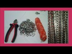 Si te gusta reciclar y te gusta, lleva el reciclado a un nivel diferente con proyectos de tejido en cortinas con las anillas...