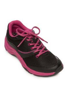 11d457938156 Orthaheel Women s Kona Sneaker - Black - 7.5M Plantar Fasciitis