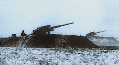 German Flak 88 anti aircraft-anti tank guns