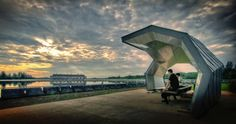 Punggol Promenade-LOOK Architects.  Waterfront landscape insertion within the surrounding urban setting