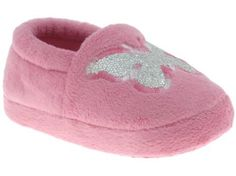 Capelli New York Moccasin With Butterfly Embroidery Toddler Girls Indoor Slipper Pink Combo Small Capelli New York. $9.95