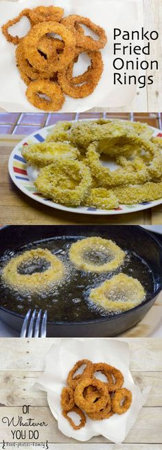 Awesome onion rings! Crispy and crunchy and amazing.
