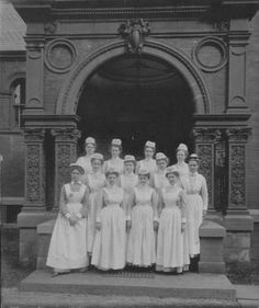 Vassar Brothers Hospital's School of Nursing Graduating Class of 1903.