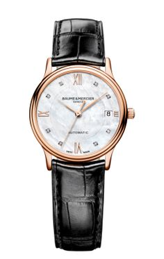 Discover the Classima collection of men's and women's watches designed by Baume et Mercier and find the perfect watch to wear. Baume & Mercier manufacturer of Swiss watches since Luxury Watches, Red Gold, A Good Man, Rolex, Watches For Men, Leather, Stuff To Buy, Accessories, Sapphire