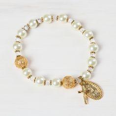 Fatima Pearl Rosary Bracelet