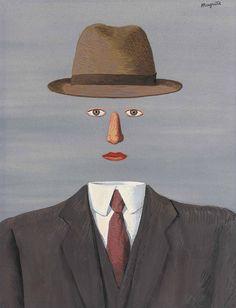 René Magritte - Le Paysage de Baucis, 1966                                                                                                                                                                                 More