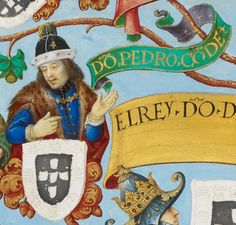 D. Pedro Afonso de Portugal, 3rd Count of Barcelos (1287-1354), illegitimate son of King Denis of Portugal.