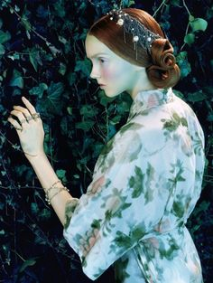 'Like a Painting'Vogue Italia February 2005model - Lily Colephotographer - Miles Aldridge