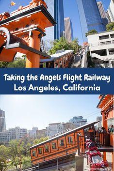 Angels Flight Railway Los Angeles California