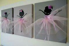 Beautiful ballet deco
