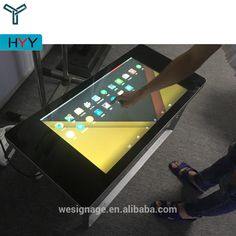 32'' Interactive Game Table with LCD Multi Touch Screen for Coffee Bar