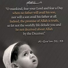 Do not be deluded...Come back to Allah. #islam #muslim #Allah #Quran…