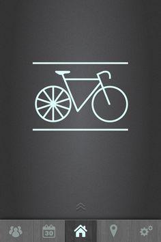 Social cycling app