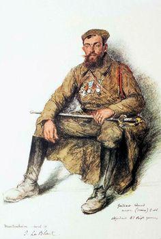 Les troupes coloniales en Rhénanie | LA GRANDE GUERRE EN DESSINS