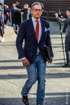 Pitti Uomo Street Style - Part 2 from Black.co.uk #menswear #style