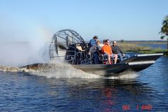 If you ever get the chance to ride an air boat do it!!! This is one of the coolest experiences I have ever had