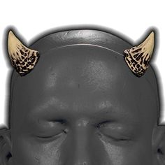 Puck v1 Bone White & Black Devil / Demon Horns w/ adjusta... https://www.amazon.com/dp/B01LWKFY7J/ref=cm_sw_r_pi_dp_x_TcOLybF339NT9